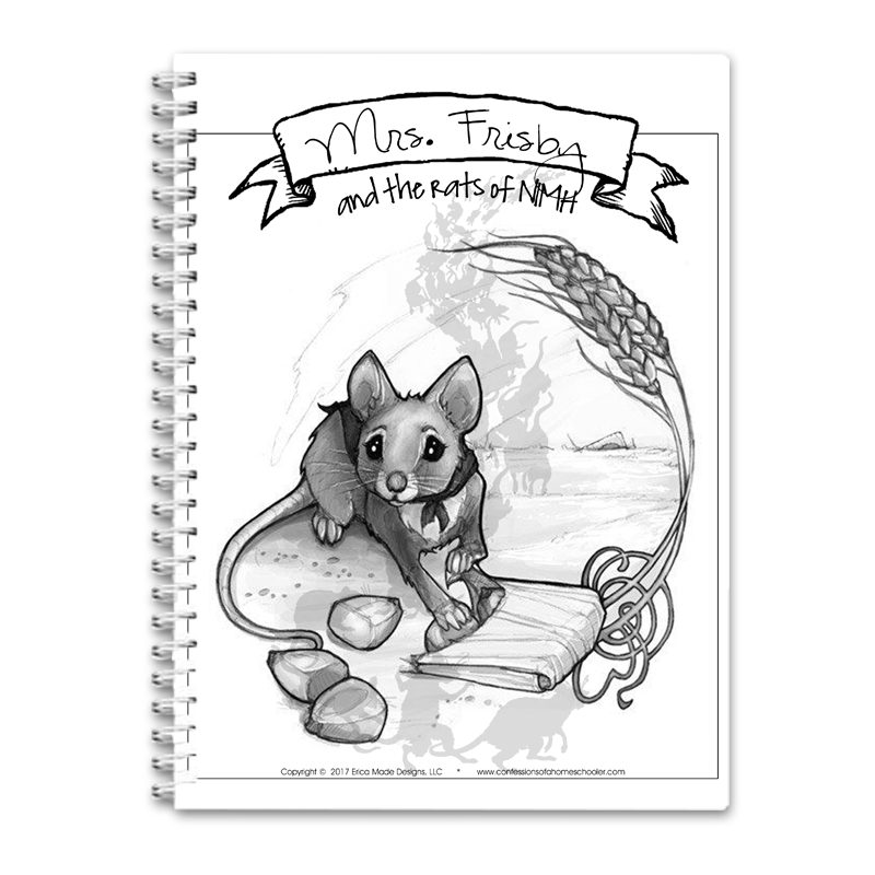 Mrs Frisby and the Rats of Nimh Unit Study PDF