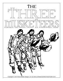 The Three Musketeers Unit Study
