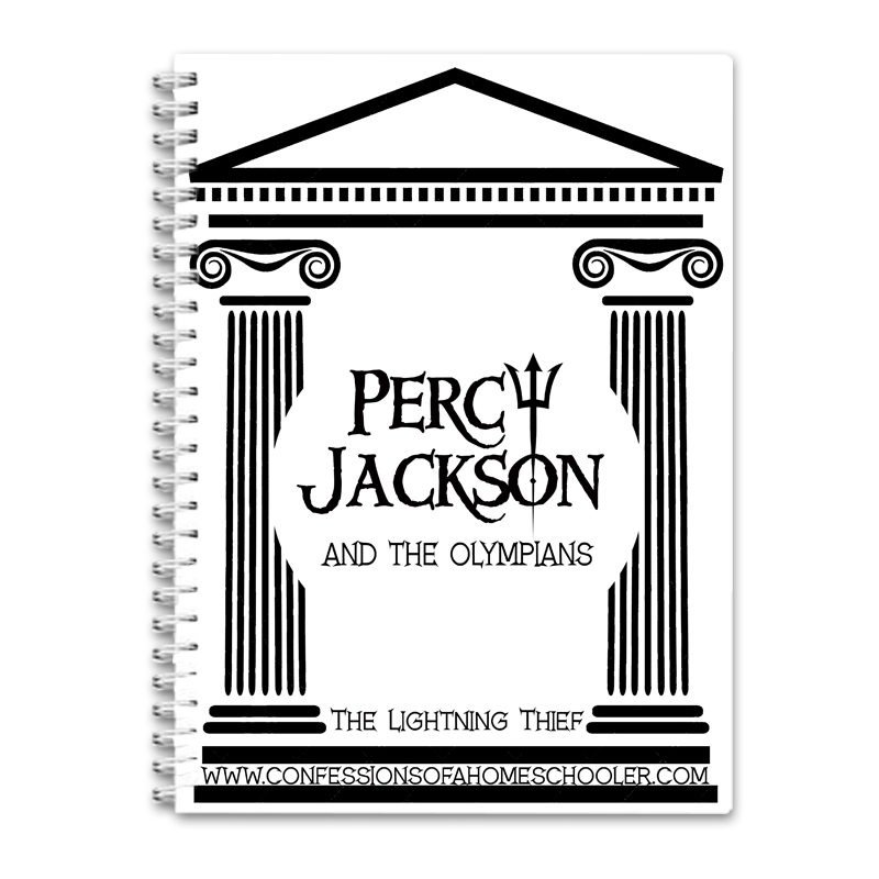 Percy Jackson: The Lightning Thief Unit Study PDF