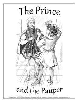 The Prince and the Pauper Unit Study