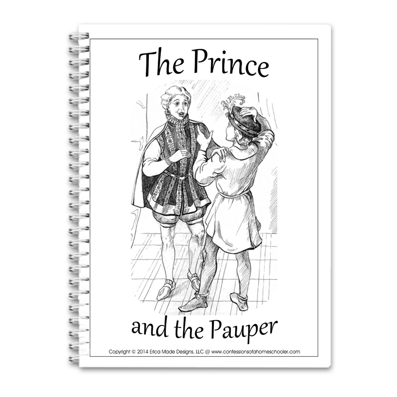 The Prince and the Pauper Unit Study PDF - Click Image to Close