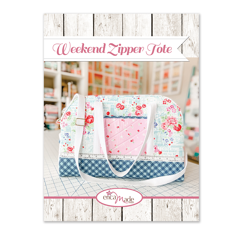 Quilty Weekend Zipper Tote PDF