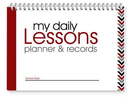 8x10 Lesson Planner - Arrows PDf