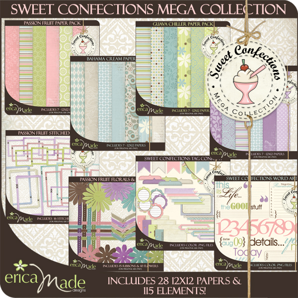 Sweet Confections Mega Kit - Commercial Use