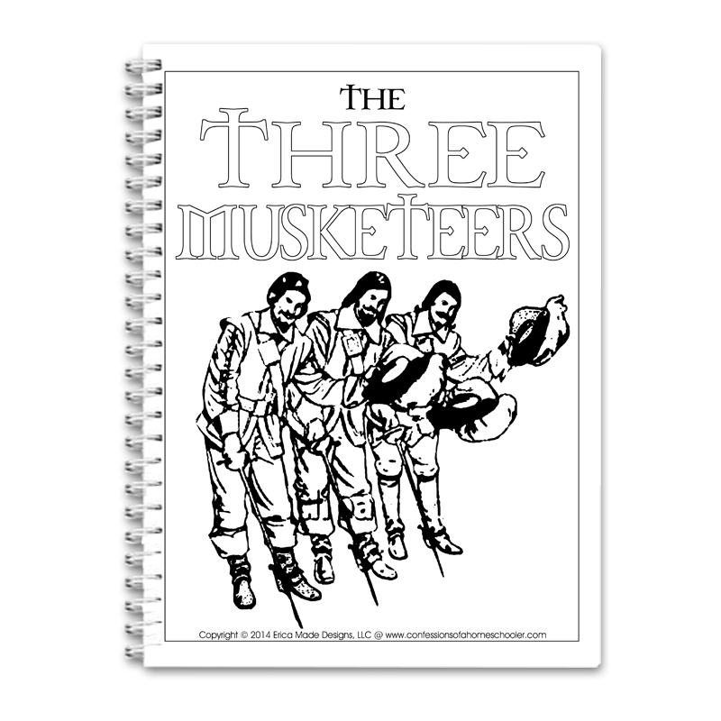 The Three Musketeers Unit Study PDF