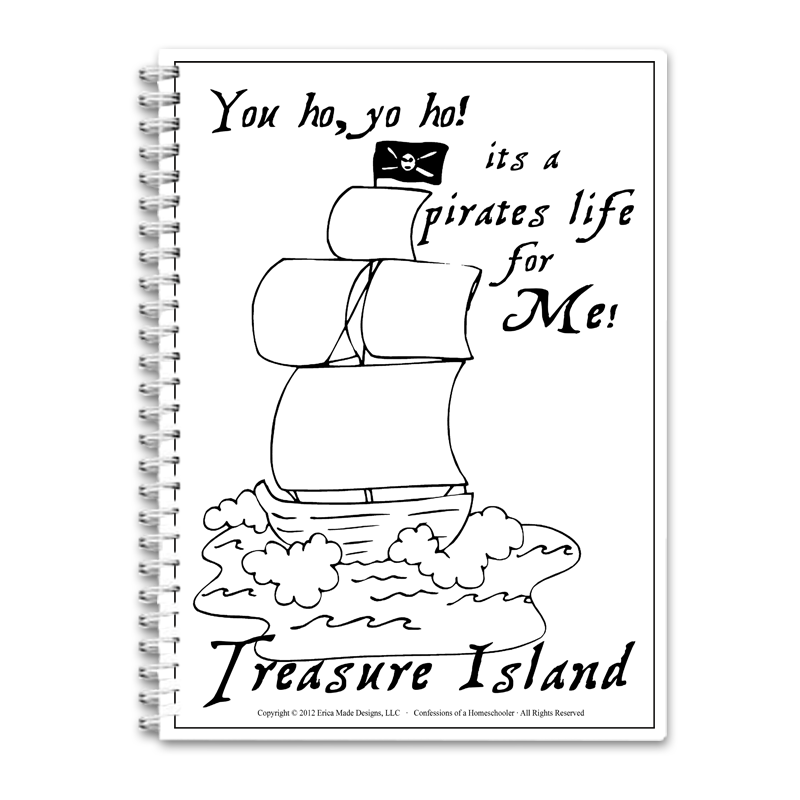 Treasure Island Unit Study PDF - Click Image to Close
