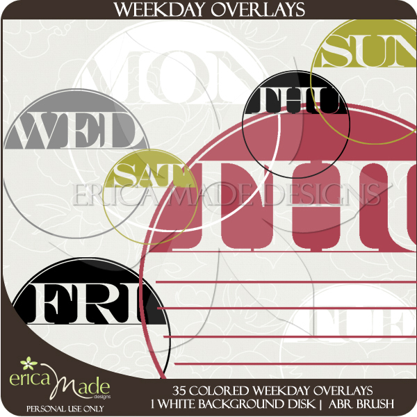 Weekday Overlays